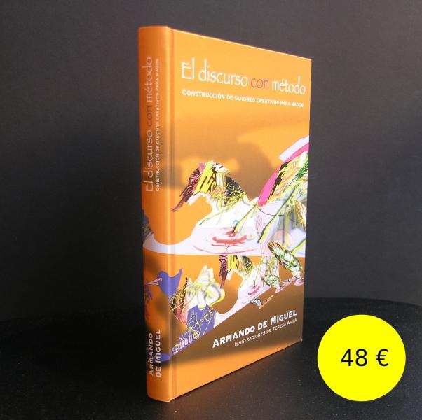 """Portada del libro """"El discurso con método: construcción de guiones creativos para magos"""""""