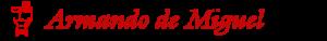 Logo de Armando de MIguel