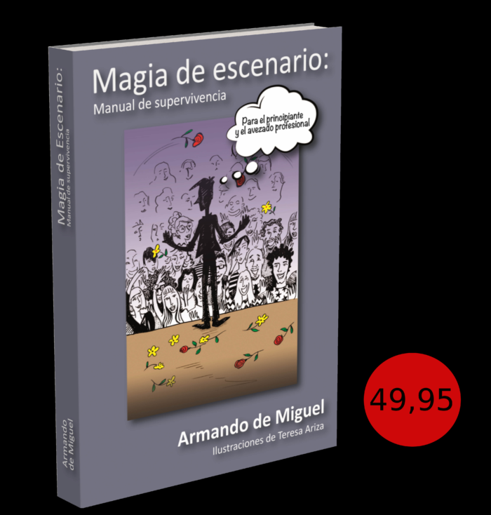 Portada del libro Magia de Escenario de Armando de Miguel